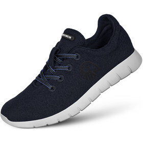 Giesswein Merino Wool Runners Dames, dark blue